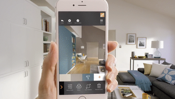 home depot AR product previews in app