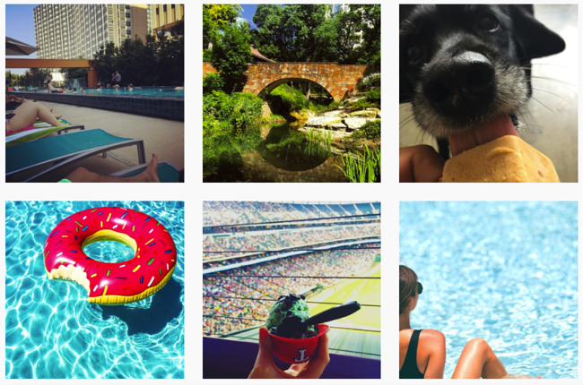 submissions for #staycooldallas instagram contest