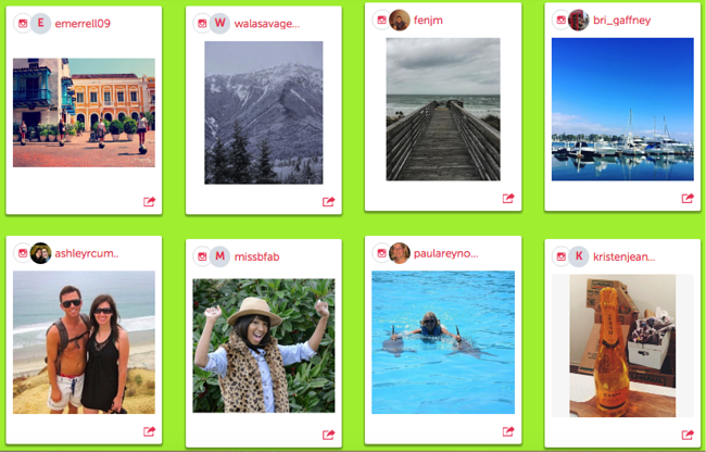 submissions for #mymintmoment instagram contest