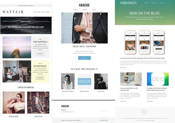 emailoctopus email newsletter template