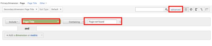 Fix 404 errors Seach Console