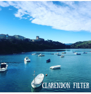 Instagram photo of boats on water using clarendon filter
