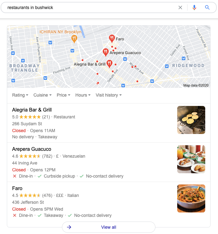 grow local business google my business