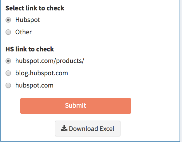 hubspot surround sound content strategy select link to check serp tracker