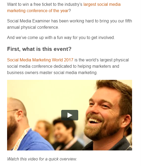 promote event social contests
