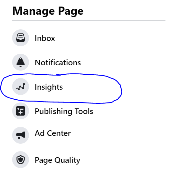 Page Insights Facebook for advanced affiliate marketing