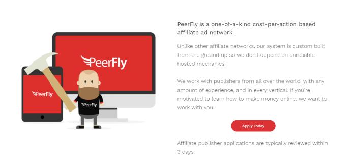 Top Affiliate Networks Peerfly
