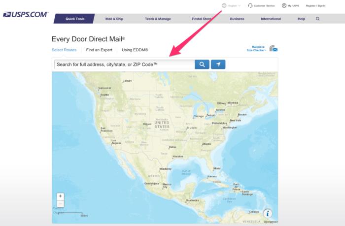 USPS com Every Door Direct Mail