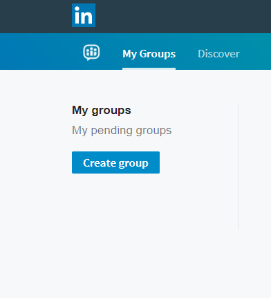 create a group to promote event