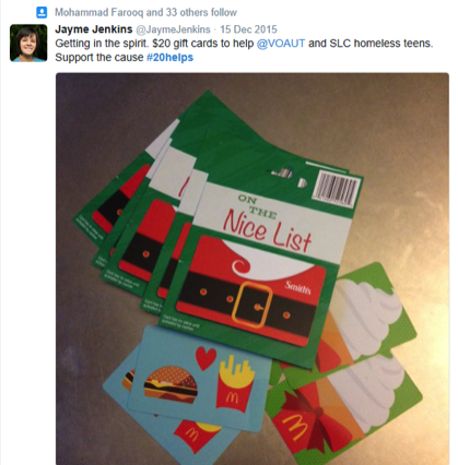 direct mail campaign hashtag on twitter