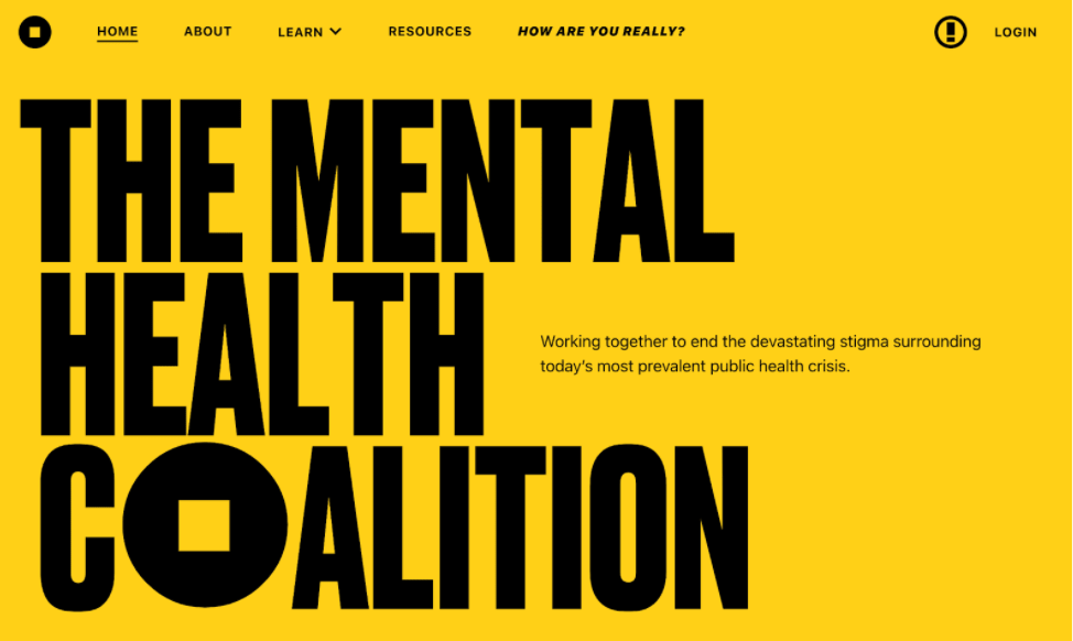 mental health coalition homepage