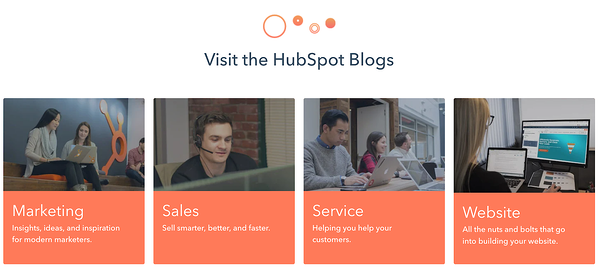 HubSpot Blog Category example