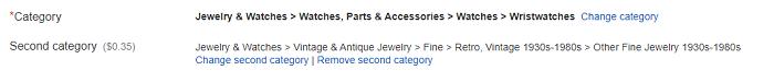 Ebay SEO - Use the Correct eBay Item Categories
