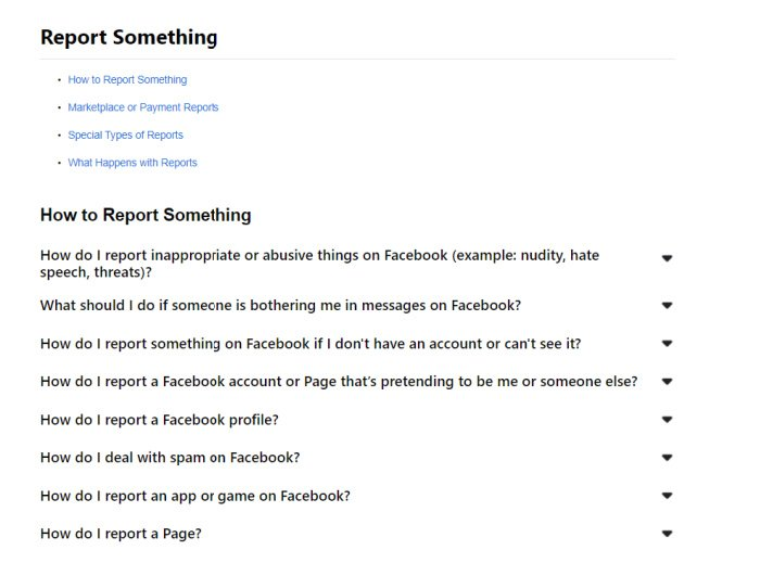 How to report it if your facebook page is hacked