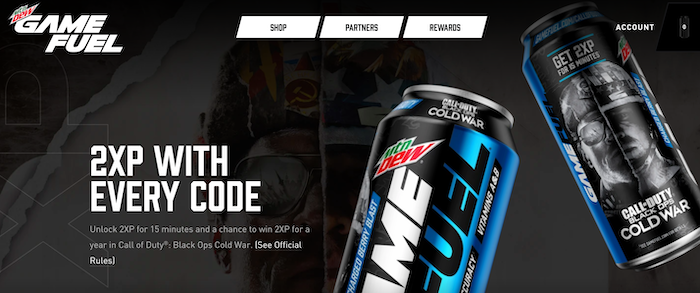 games as a service mtn dew