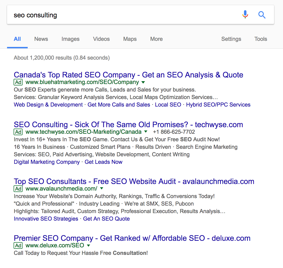 Advanced SEO techniques find keyterms to rank for