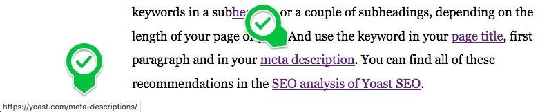 seo basics text exact match example