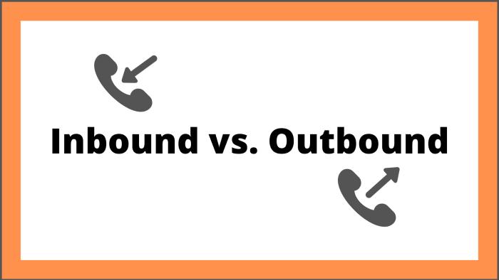 Call tracking metrics for inbound vs. outbound calsl