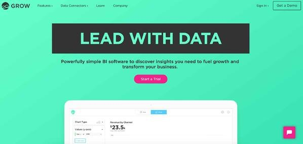 Business Intelligence & Data Reporting Tools example growth.com