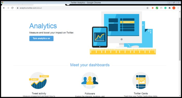 example analytics to help with social media marketing shortcuts