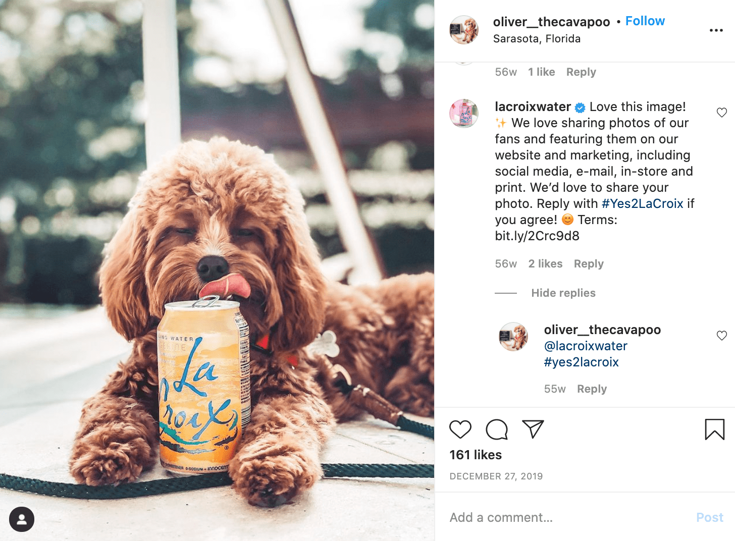 micromarketing example with la croix