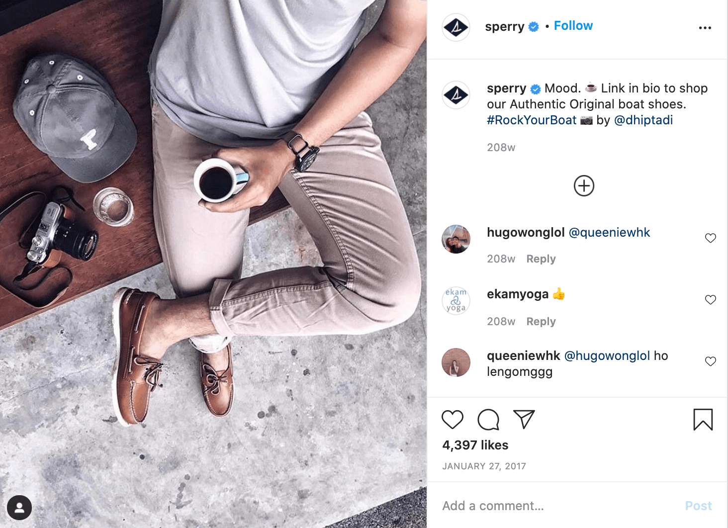 micromarketing example with sperry