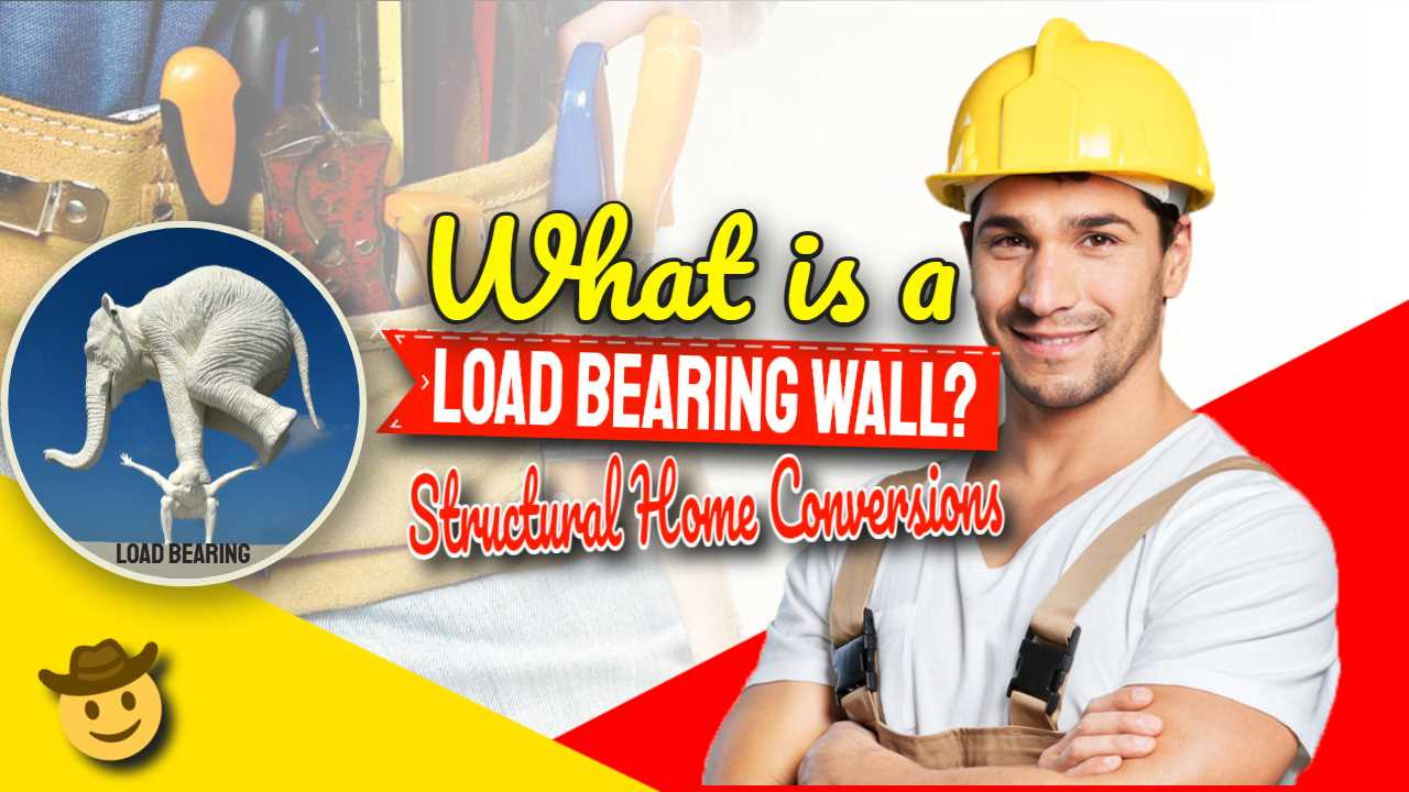 "Featured image: ""What is a load bearing wall?""."