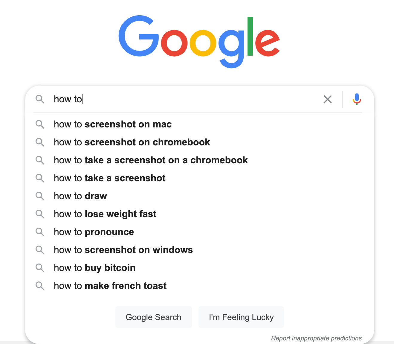 """someone searching """"how to"""" on Google"""