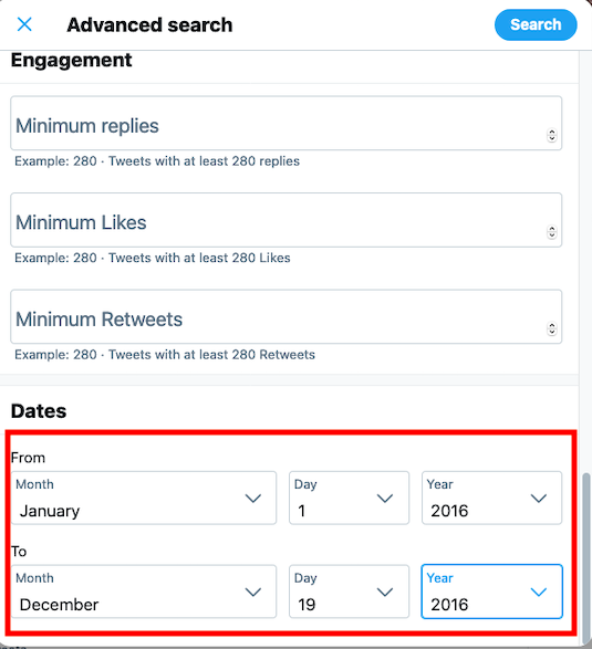 How to Find Old Tweets - Adding date range in Twitter's Advanced Search
