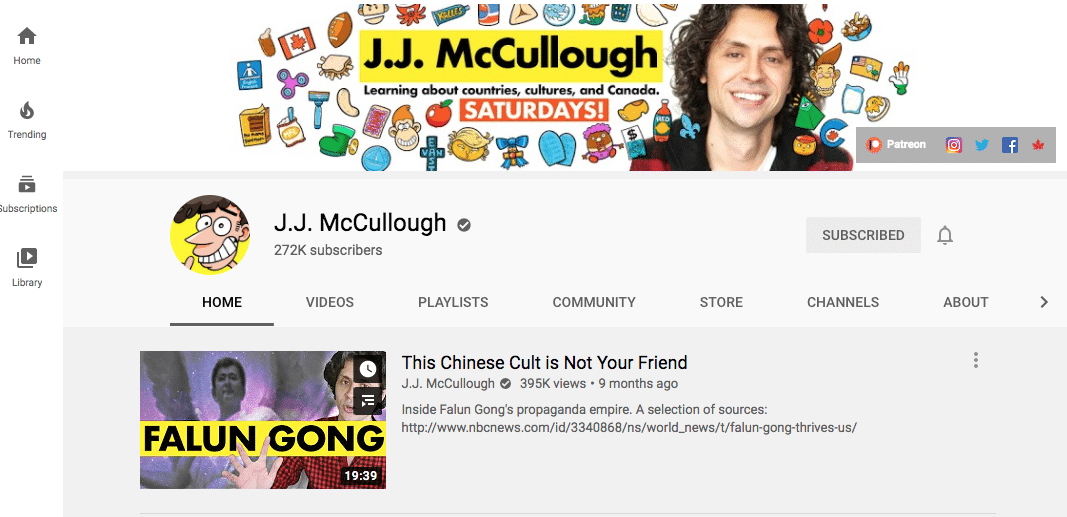 J.J. McCullough cartoon caricature channel icon