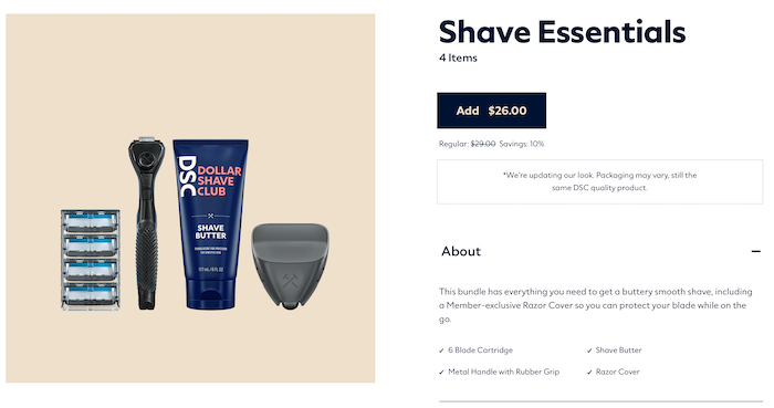 How to Create a Subscription Box -  Example of Dollar Shave Club