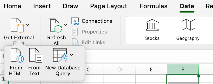 Excel Tricks to Use in Paid Ad Campaigns - Importing data from CSV