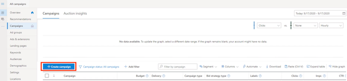 How to Set Up Your Bing Ads Campaign - Create Your Bing Ads Campaign