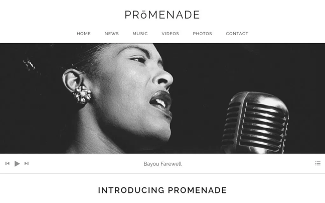promenade  wordpress theme for podcasts preview page
