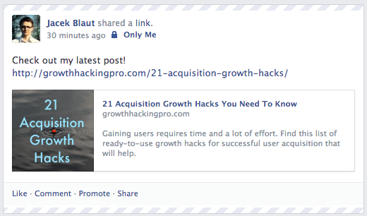 FB thumbnail centred with text open graph meta tag