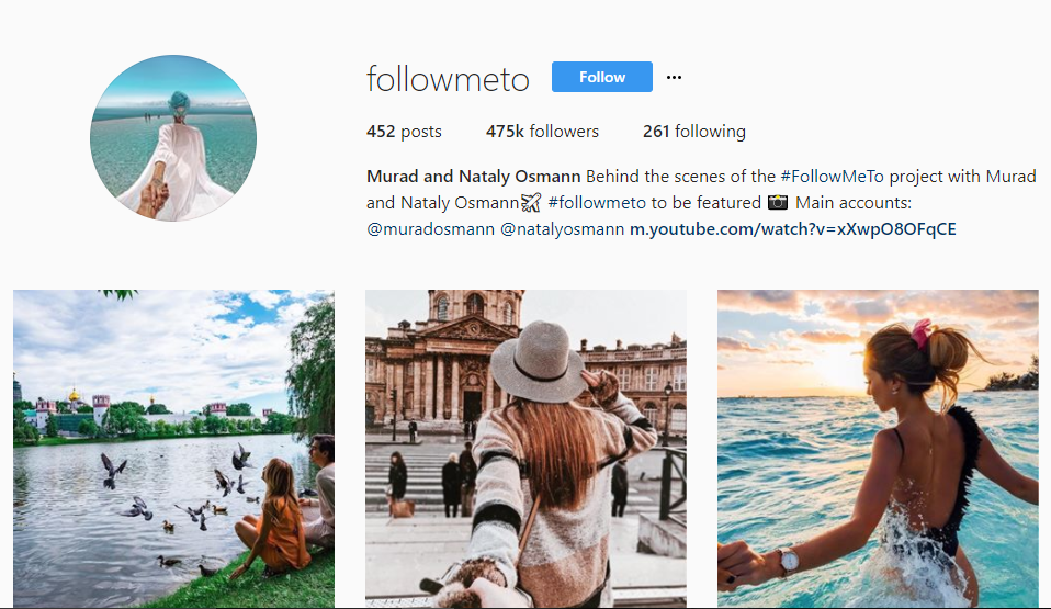 influencer marketing - example of specific image style