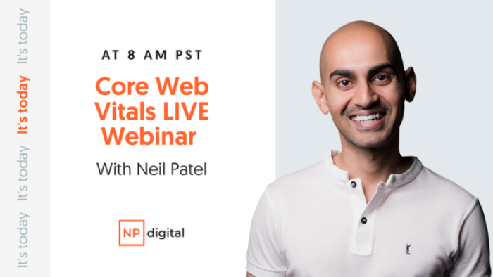 webinar How to Adapt Your SEO to Google's Core Web Vitals and Core Update