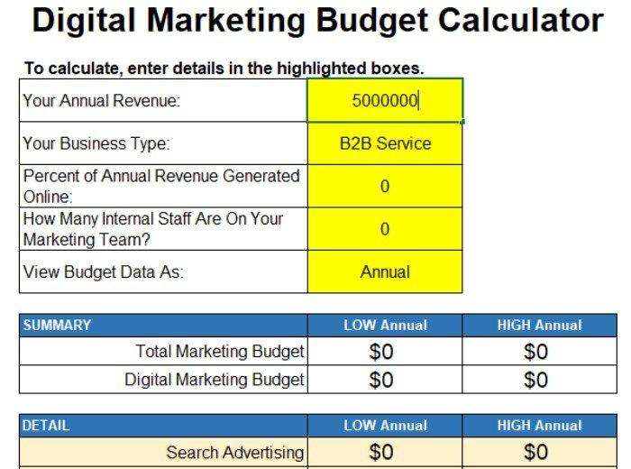 word-of-mouth digital marketing calculator image