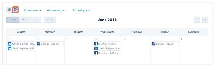 Content Calendar Tools for Paid Ad Campaigns - Hubspot