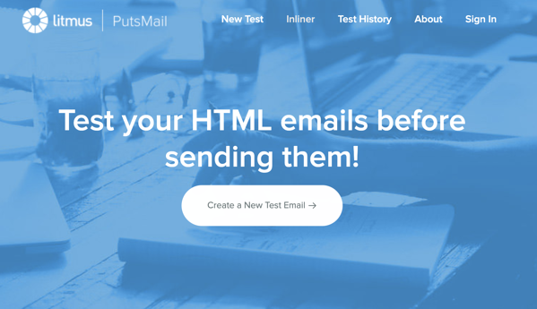PutsMail html free email testing tool by litmus