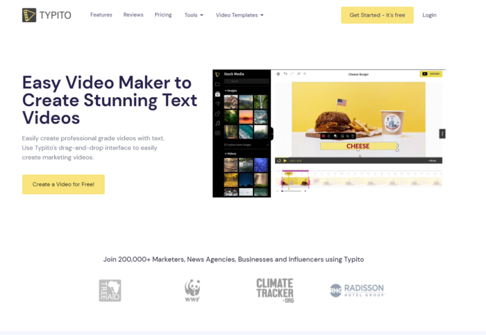 Tools for Automated Video Creation - Typito