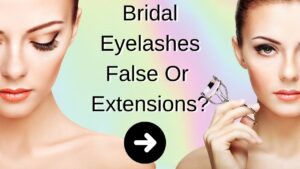bridal eyelashes hair and makeup Gold Coast